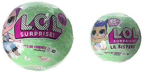 エルオーエルサプライズ 人形 ドール Bundle of Lets Be Friends! - Series 2 Wave 2 LOL Surprise Doll and Her Lil Sisterエルオーエルサプライズ 人形 ドール