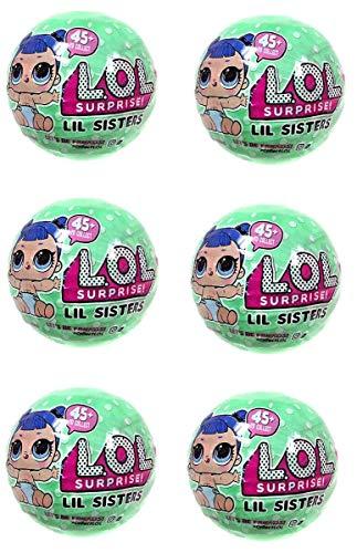 無料ラッピングでプレゼントや贈り物にも。逆輸入・並行輸入多数 エルオーエルサプライズ 人形 ドール Set of 6 LOL Surprise Dolls Lil Sisters- Lets Be Friends! - Series 2 Wave 2エルオーエルサプライズ 人形 ドール