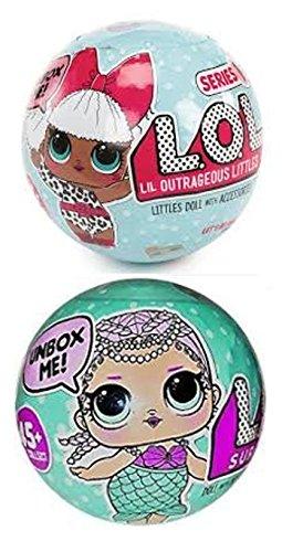 エルオーエルサプライズ 人形 ドール LOL Surprise Doll and LOL Surprise Mermaid Doll (One of Each)エルオーエルサプライズ 人形 ドール
