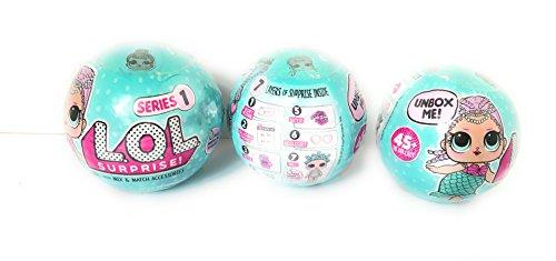 エルオーエルサプライズ 人形 ドール NEW!!! L.O.L MERMAID Series1 (3 L.O.Ls)エルオーエルサプライズ 人形 ドール