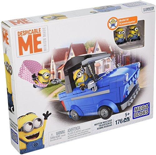 メガブロック メガコンストラックス ミニオンズ 組み立て 知育玩具 【送料無料】Mega Bloks Despicable Me Motor Mischief Building Kitメガブロック メガコンストラックス ミニオンズ 組み立て 知育玩具