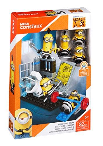 メガブロック メガコンストラックス ミニオンズ 組み立て 知育玩具 Mega Construx Despicable Me Minion Jail Break Building Setメガブロック メガコンストラックス ミニオンズ 組み立て 知育玩具