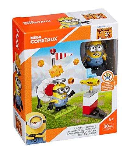 メガブロック メガコンストラックス ミニオンズ 組み立て 知育玩具 Mega Construx Despicable Me Cheese Shootout Building Setメガブロック メガコンストラックス ミニオンズ 組み立て 知育玩具