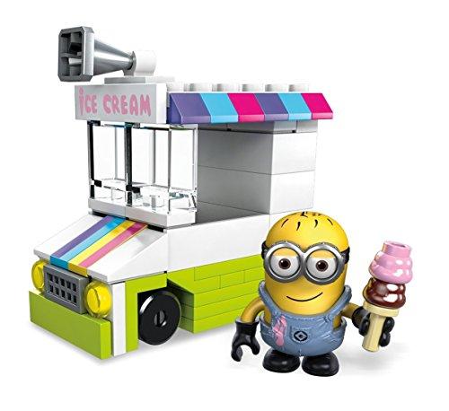 メガブロック メガコンストラックス ミニオンズ 組み立て 知育玩具 【送料無料】Mega Construx Despicable Me Ice Scream Truck Miniメガブロック メガコンストラックス ミニオンズ 組み立て 知育玩具