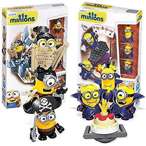 メガブロック メガコンストラックス ミニオンズ 組み立て 知育玩具 New Mega Bloks Despicable Me Minions Movie Themed Figure CNF53-00 Shark Bait & Vampire Surprise 2 Pack Gift Setメガブロック メガコンストラックス ミニオンズ 組み立て 知育玩具