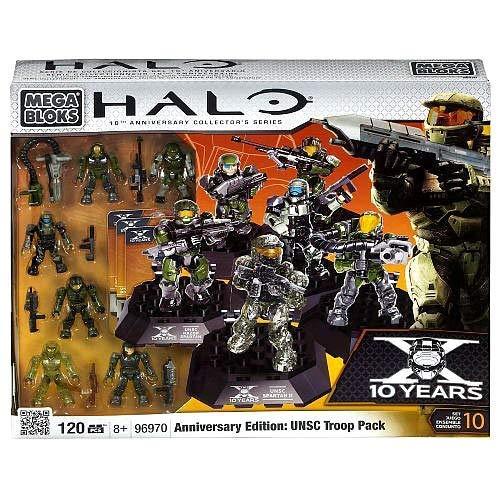 メガブロック メガコンストラックス ヘイロー 組み立て 知育玩具 Halo Mega Bloks Set #96970 Anniversary Edition UNSC Troop Pack by Mega Brandsメガブロック メガコンストラックス ヘイロー 組み立て 知育玩具