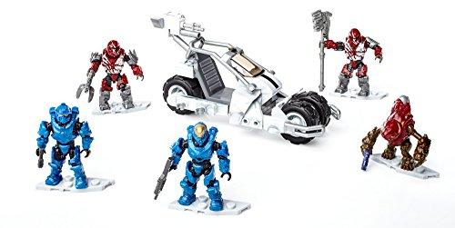 メガブロック メガコンストラックス ヘイロー 組み立て 知育玩具 Mega Construx Halo Arctic Jackrabbit Assault Building Setメガブロック メガコンストラックス ヘイロー 組み立て 知育玩具