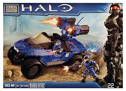 メガブロック メガコンストラックス ヘイロー 組み立て 知育玩具 Mega Bloks Halo Blue Series Rockethog (97159) [Retired Set]メガブロック メガコンストラックス ヘイロー 組み立て 知育玩具