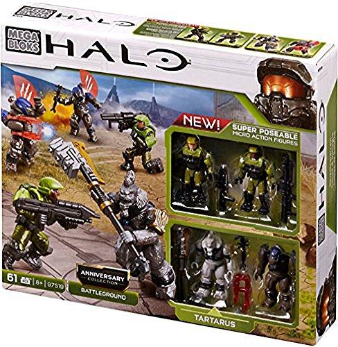 メガブロック メガコンストラックス ヘイロー 組み立て 知育玩具 Halo Mega Bloks Set #97519 Anniversary Collection: Battlegroundメガブロック メガコンストラックス ヘイロー 組み立て 知育玩具
