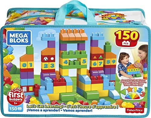 メガブロック メガコンストラックス 組み立て 知育玩具 【送料無料】Mega Bloks Let's Get Learning!メガブロック メガコンストラックス 組み立て 知育玩具