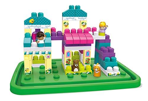 メガブロック メガコンストラックス 組み立て 知育玩具 Mega Bloks Block Buddy Cozy Cottage Bulding Setメガブロック メガコンストラックス 組み立て 知育玩具