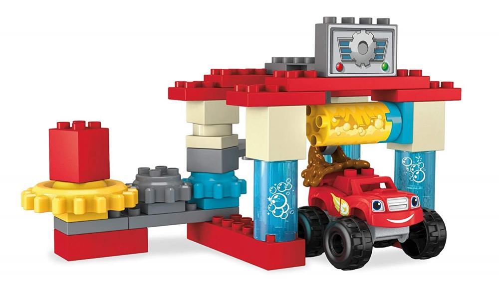 メガブロック メガコンストラックス 組み立て 知育玩具 Mega Bloks Blaze & The Monster Machines Axle City Truck Wash Building Set Building Kitメガブロック メガコンストラックス 組み立て 知育玩具