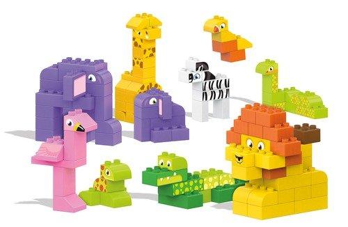 メガブロック メガコンストラックス 組み立て 知育玩具 Mega Bloks My Safari Friends Building Blocks Building Kitメガブロック メガコンストラックス 組み立て 知育玩具