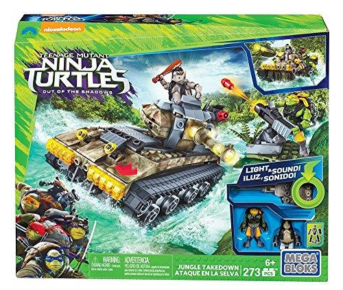 メガブロック メガコンストラックス 組み立て 知育玩具 Mega 知育玩具 Ninja Bloks Teenage Mutant Ninja Bloks Turtles Jungle Takedown Setメガブロック メガコンストラックス 組み立て 知育玩具, 鍵の鉄人:864f7495 --- jpworks.be