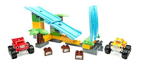 メガブロック メガコンストラックス 組み立て 知育玩具 Blaze and the Monster Machines Mega Bloks Jungle Ramp Rush Building Setメガブロック メガコンストラックス 組み立て 知育玩具