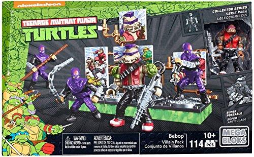 メガブロック メガコンストラックス 組み立て 知育玩具 【送料無料】Mega Construx Teenage Mutant Ninja Turtles Collectors Bebop Villain Packメガブロック メガコンストラックス 組み立て 知育玩具