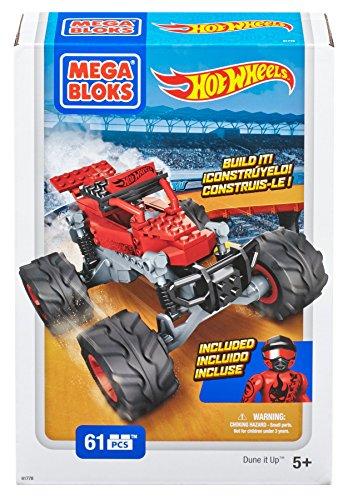 メガブロック メガコンストラックス 組み立て 知育玩具 Mega Bloks Hot Wheels Dune It Up Monster Truckメガブロック メガコンストラックス 組み立て 知育玩具