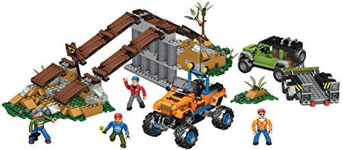 メガブロック メガコンストラックス 組み立て 知育玩具 Mega Bloks Jeep Off-Road Adventureメガブロック メガコンストラックス 組み立て 知育玩具