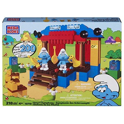 メガブロック メガコンストラックス 組み立て 知育玩具 Mega Bloks The Smurfs Symphony Super Setメガブロック メガコンストラックス 組み立て 知育玩具