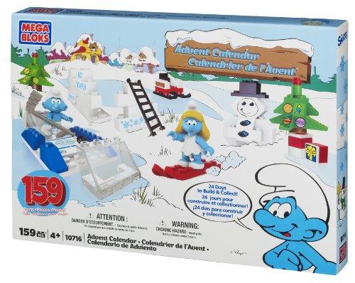 メガブロック メガコンストラックス 組み立て 知育玩具 Mega Bloks Smurfs Advent Calendarメガブロック メガコンストラックス 組み立て 知育玩具
