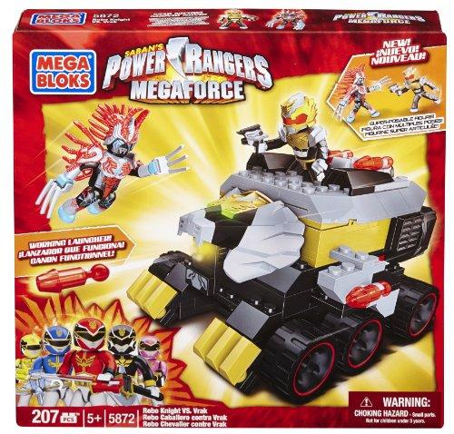 メガブロック メガコンストラックス 組み立て 知育玩具 Mega Bloks Power Rangers Megaforce - Robo Knight vs. Vrakメガブロック メガコンストラックス 組み立て 知育玩具