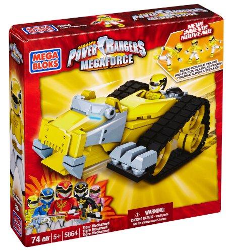メガブロック メガコンストラックス 組み立て 知育玩具 Mega Bloks Power Rangers Megaforce - Tiger Mechazordメガブロック メガコンストラックス 組み立て 知育玩具