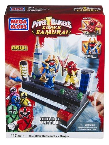 メガブロック メガコンストラックス 組み立て 知育玩具 Mega Bloks Power Rangers Samurai Claw Battlezord vs Moogerメガブロック メガコンストラックス 組み立て 知育玩具