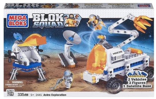 メガブロック メガコンストラックス 組み立て 知育玩具 Megabloks Blok Squad Space Astro Explorationメガブロック メガコンストラックス 組み立て 知育玩具