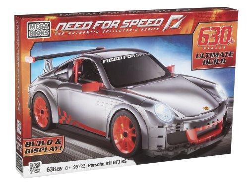 メガブロック メガコンストラックス 組み立て 知育玩具 【送料無料】Megabloks Need for Speed Porsche GT3 RSメガブロック メガコンストラックス 組み立て 知育玩具
