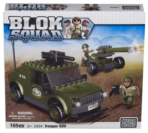 メガブロック メガコンストラックス 組み立て 知育玩具 Megabloks Blok Squad Army Trooper SUVメガブロック メガコンストラックス 組み立て 知育玩具