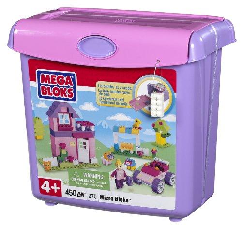 メガブロック メガコンストラックス 組み立て 知育玩具 Megabloks Micro Bloks Scoop'n Build Bucket pinkメガブロック メガコンストラックス 組み立て 知育玩具