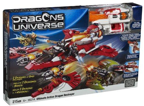 メガブロック メガコンストラックス 組み立て 知育玩具 Mega Bloks Ultimate Action Dragon Destroyerメガブロック メガコンストラックス 組み立て 知育玩具