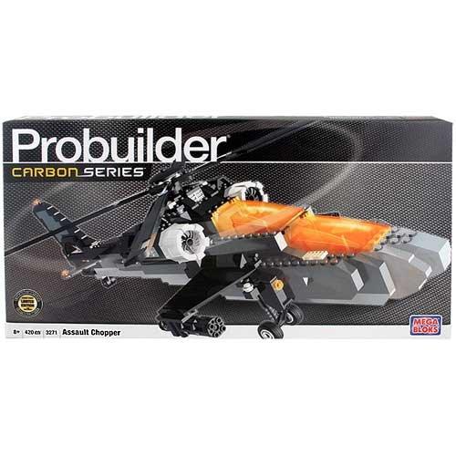 メガブロック メガコンストラックス 組み立て 知育玩具 Mega Bloks Probuilder Carbon Series Assault Chopper [3271]メガブロック メガコンストラックス 組み立て 知育玩具