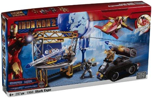 メガブロック メガコンストラックス 組み立て 知育玩具 Mega Bloks Ironman 2 Stark Expo Playsetメガブロック メガコンストラックス 組み立て 知育玩具