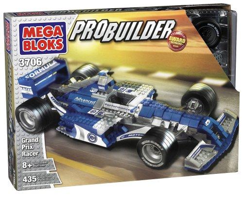 メガブロック メガコンストラックス 組み立て 知育玩具 Mega Bloks - Probuilder Grand Prix Racerメガブロック メガコンストラックス 組み立て 知育玩具