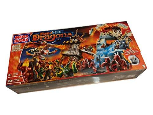 メガブロック メガコンストラックス 組み立て 知育玩具 Mega Bloks Fire Ice Dragon Mountain (9858)メガブロック メガコンストラックス 組み立て 知育玩具