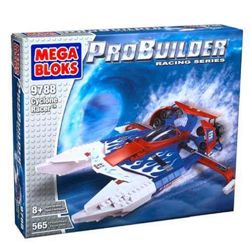 メガブロック メガコンストラックス 組み立て 知育玩具 Mega Bloks ProBuilder Cyclone Racer, 9788, 565 Pieces, Blocksメガブロック メガコンストラックス 組み立て 知育玩具