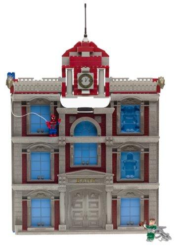 メガブロック メガコンストラックス 組み立て 知育玩具 Mega Bloks Amazing Spider-Man Building 2メガブロック メガコンストラックス 組み立て 知育玩具