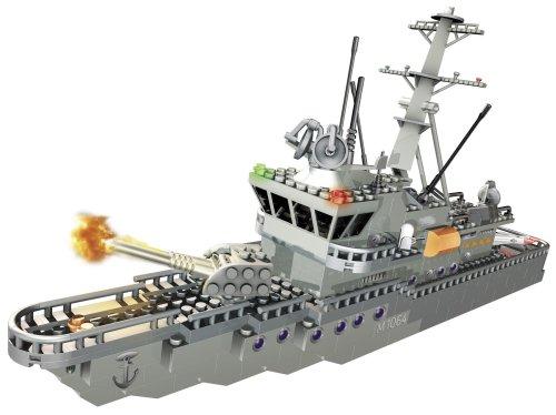 メガブロック メガコンストラックス 組み立て 知育玩具 Mega Bloks - Probuilder M1064 Gromitz Minehunter Boatメガブロック メガコンストラックス 組み立て 知育玩具