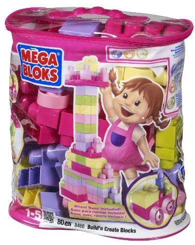 メガブロック メガコンストラックス 組み立て 知育玩具 Megabloks 80pc Lrg Mega Bloks Bag Pinkメガブロック メガコンストラックス 組み立て 知育玩具