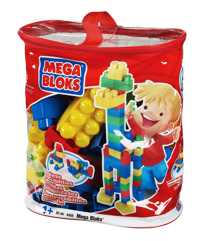 メガブロック メガコンストラックス 組み立て 知育玩具 Megabloks 80pc Lrg Mega Bloks Bagメガブロック メガコンストラックス 組み立て 知育玩具