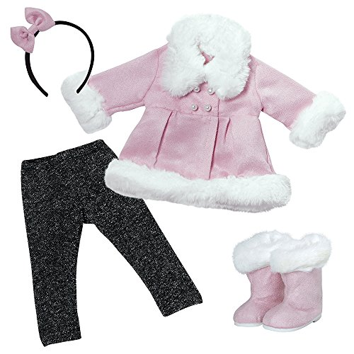 アドラベビードール 赤ちゃん リアル 本物そっくり おままごと 【送料無料】Adora Amazing Girls Snowy Winter Outfit for 18