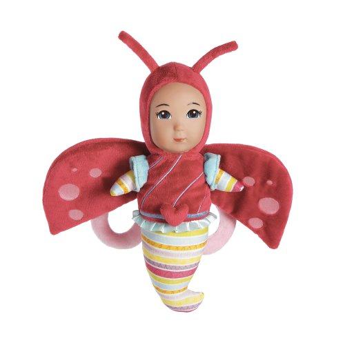 アドラベビードール 赤ちゃん リアル 本物そっくり おままごと 【送料無料】Adora Flutter Baby Ladybug 9
