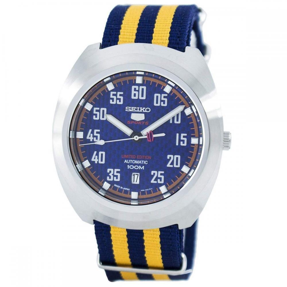 セイコー 腕時計 メンズ Seiko 5 Sports Limited Edition SeikoMens Blue Japan Casual Automatic SRPA91J1セイコー 腕時計 メンズ