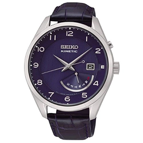 セイコー 腕時計 メンズ Seiko Men's Kinetic SRN061 Silver Stainless-Steel Fashion Watchセイコー 腕時計 メンズ