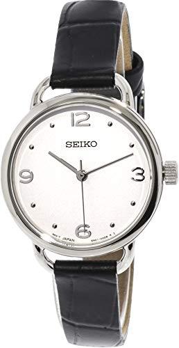 腕時計 セイコー メンズ 【送料無料】Seiko Men's SUR669P2 Silver Calf Skin Japanese Quartz Dress Watch腕時計 セイコー メンズ
