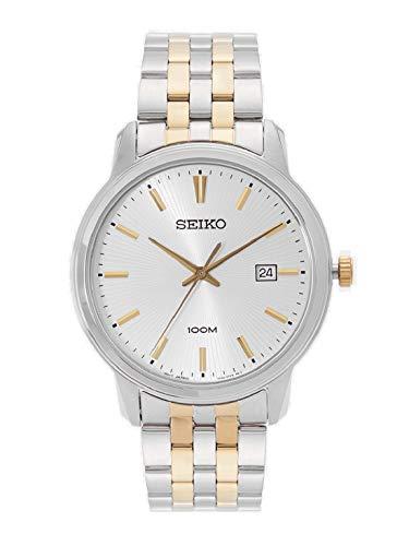 セイコー 腕時計 メンズ Seiko Men's SUR263 Silver Stainless-Steel Japanese Quartz Dress Watchセイコー 腕時計 メンズ