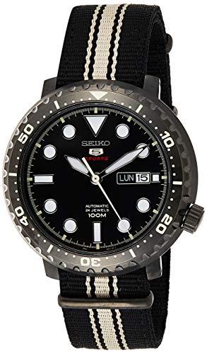 セイコー 腕時計 メンズ 【送料無料】Seiko Mens Analogue Automatic Watch with Textile Strap SRPC67K1セイコー 腕時計 メンズ