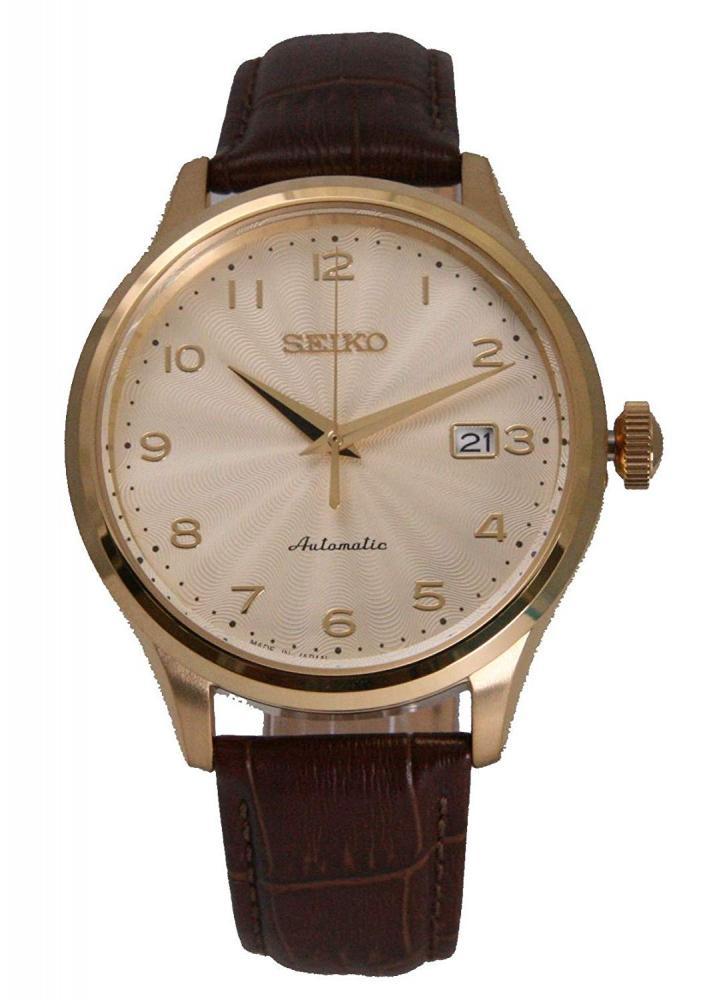 セイコー 腕時計 メンズ Seiko Automatic SeikoMens Analog Beige Japan Casual Automatic SRPC22J1セイコー 腕時計 メンズ