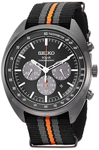 セイコー 腕時計 メンズ 【送料無料】Seiko Men's RECRAFT Series Stainless Steel Japanese-Quartz Watch with Nylon Strap, Black, 21 (Model: SSC669)セイコー 腕時計 メンズ